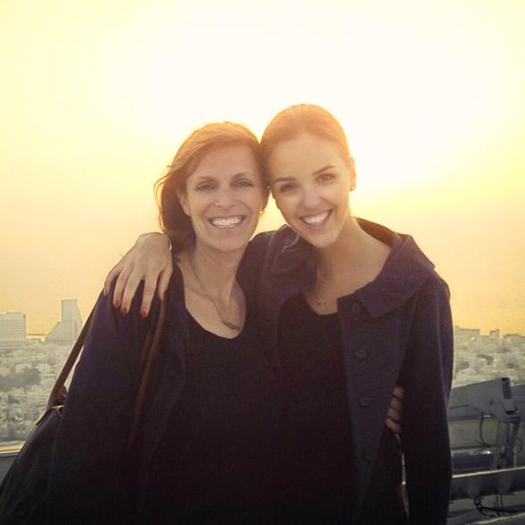 Erin & her mom!